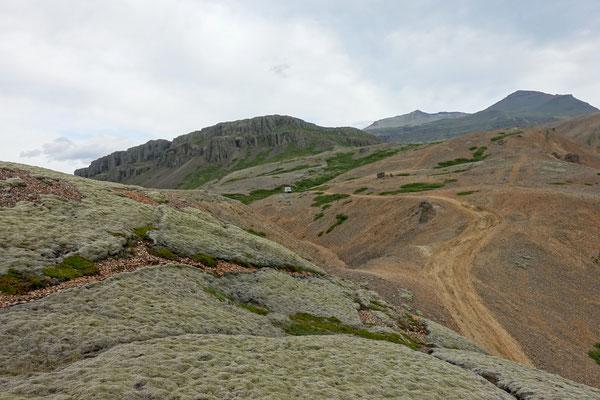 ...erklimmen wir zu Fuss die Hügel