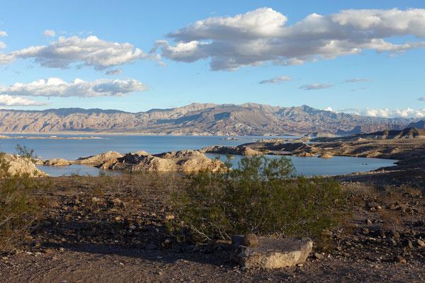 ...und am Lake Mead