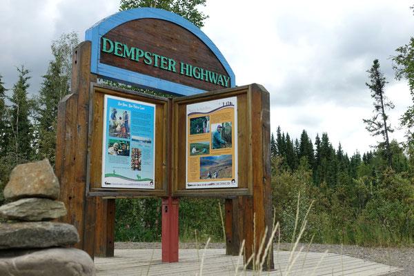 und los geht es...auf den Dempster Highway!
