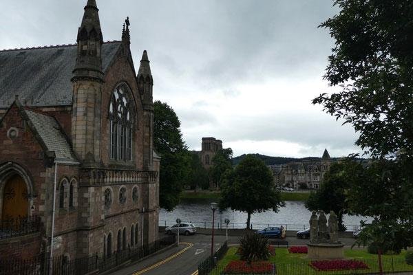 In der Stadt von Inverness