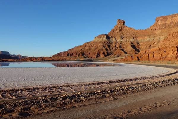 Potash Pond...Salzgewinnung in der Wüste