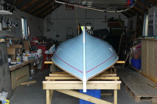 Das Boot wird fit gemacht