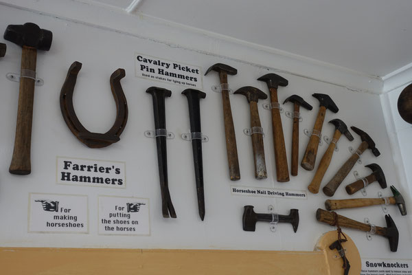Des Schmiedes Werkzeug...