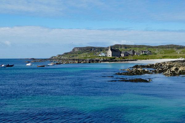 Wir setzen von Mull auf die kleine Insel Iona über