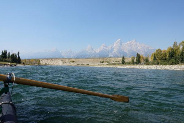 ...den Snake River hinunter