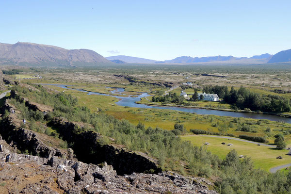 Thingvellir-von der Geschichte und Geologie her ein bedeutender Ort