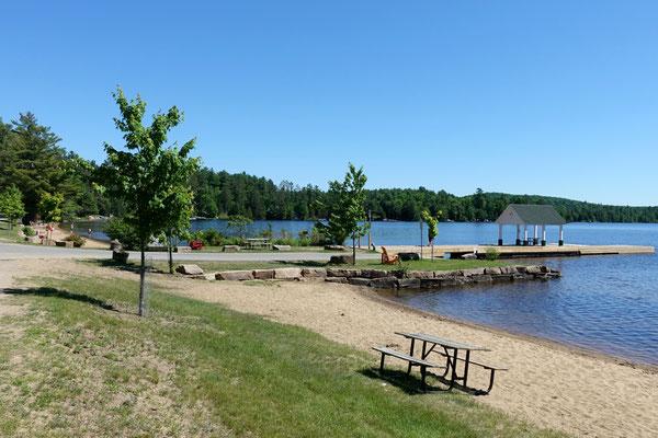 Pause am schönen Lake Huron