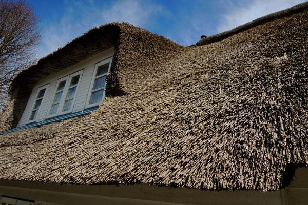 Schön gedeckte Dächer