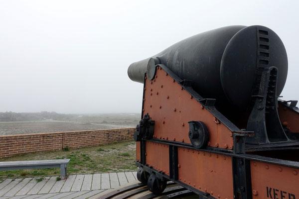 Vielleicht kann eine kleine Kugel den Nebel wegschiessen ;-)
