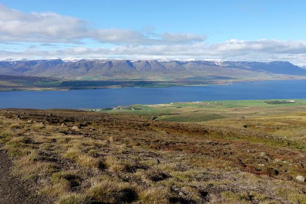 Auf dem Weg nach Akureyri