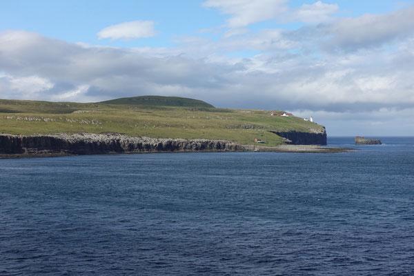 Inmitten der Färöerinseln