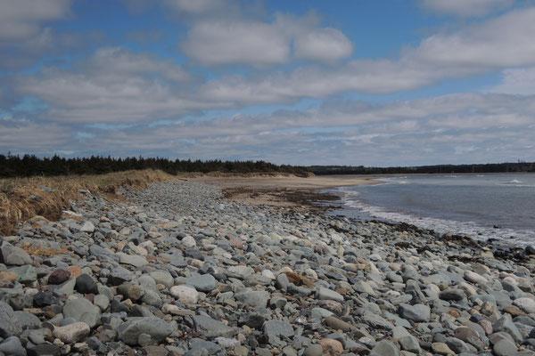 Schöne Küste
