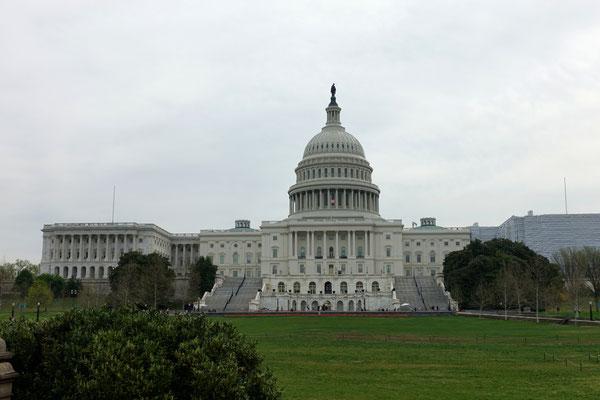 Wir sind in Washington...das Kapitol