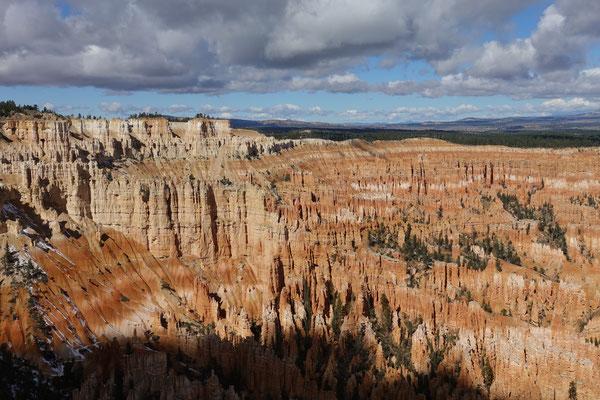 Wunderschöner Blick über den Canyon