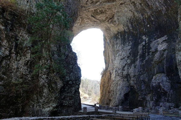 ...bei der Natural Bridge
