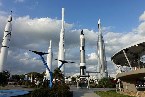 Spaziergang durch den Raketengarten