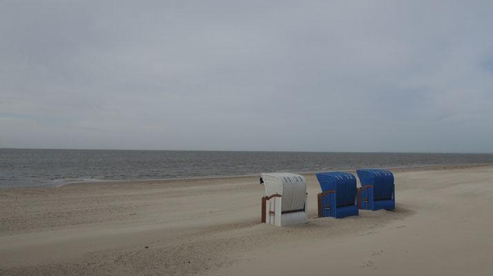 Es stürmt auf der Insel Föhr