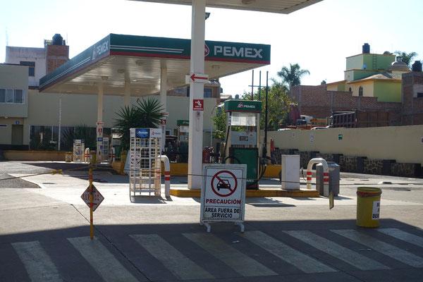 Viele Tankstellen sind geschlossen...