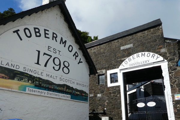 Die Destillerie von Tobermory
