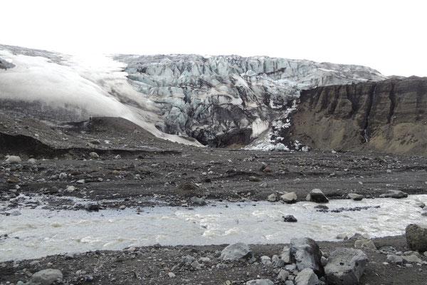 Wir wandern zum Gletscher