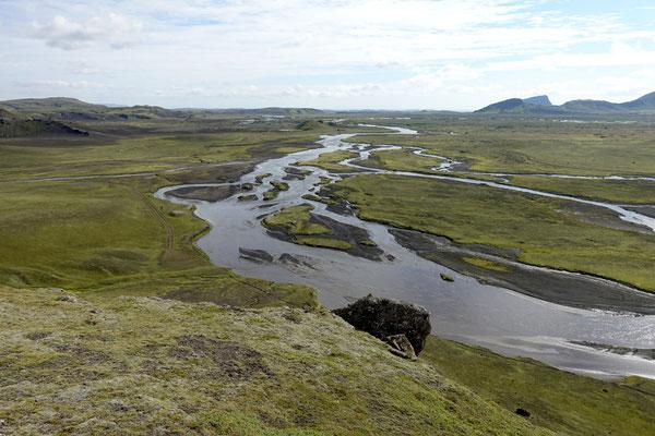 ...am Fluss Holmsa