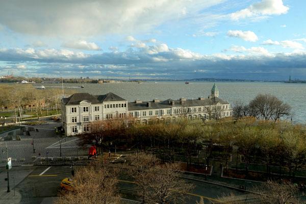 Beim Battery Park an der Südspitze von Manhatten