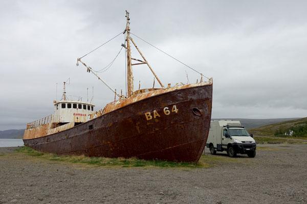 Schiffe rosten...hoffentlich der Iveco nicht