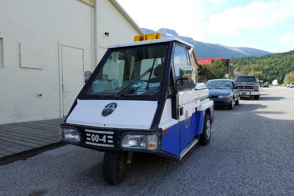 ...sieht das Polizeiauto doch etwas spärlich aus :-)