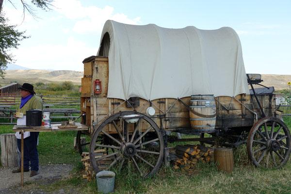 Beim Chuck Wagon gibt es echten Cowboykafi