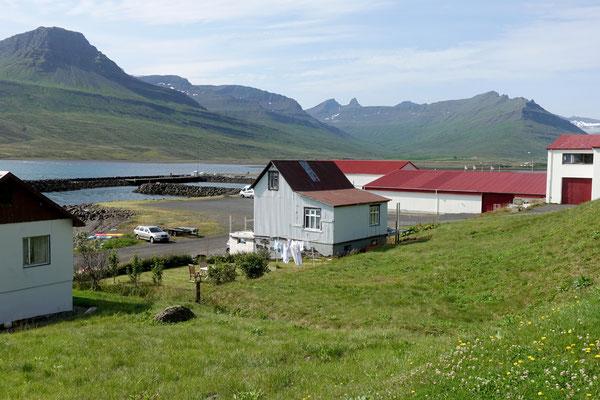 Dorfleben in den Ostfjorden