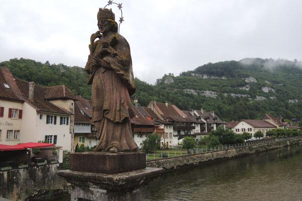 Das hübsche Saint-Ursanne im Jura
