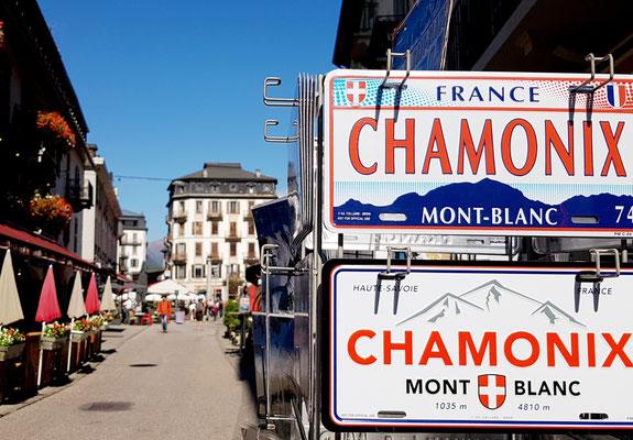 Im französischen Chamonix