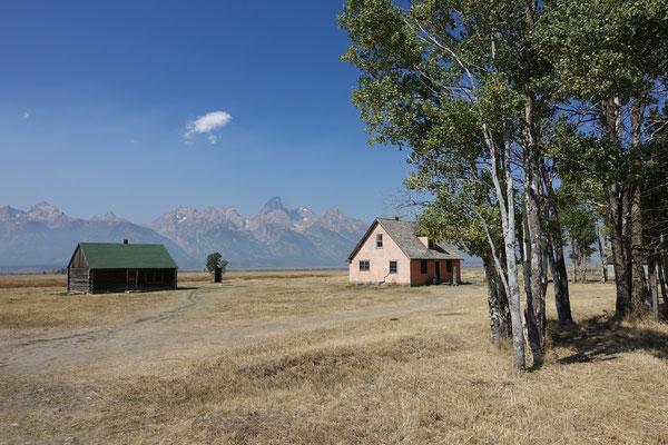 Historic Site in der Prärie