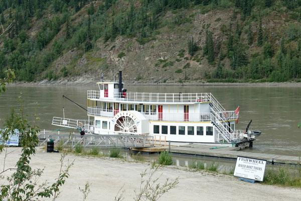 Der Raddampfer vom Yukon River