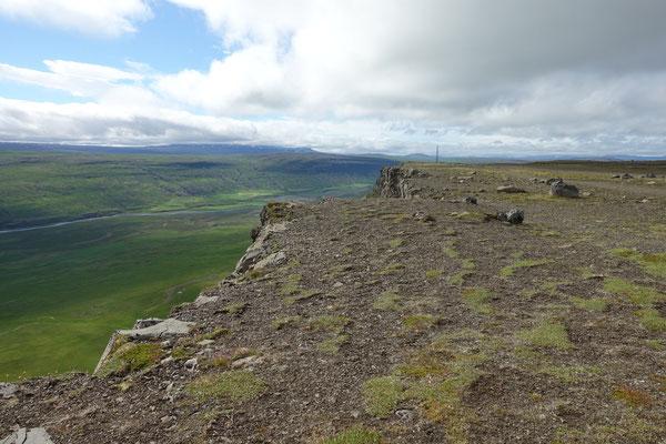 ...mit Aussicht vom Berg