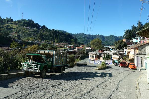 ...geht es Richtung Vulkan Toluca