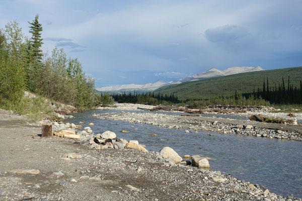 Am schönen Fluss...