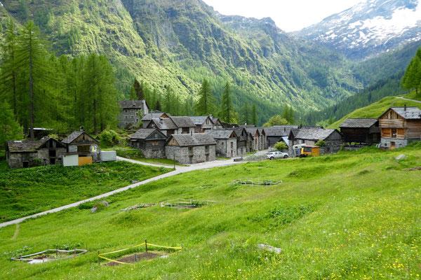 Spaziergang rund ums Dorf