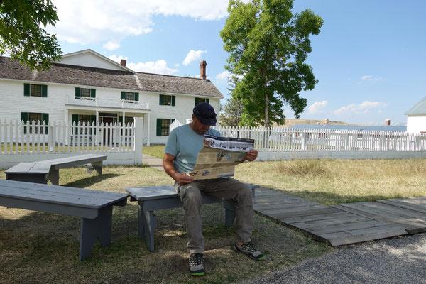 Wir besuchen eine historische Ranch...was gibt es hier alles zu sehen?