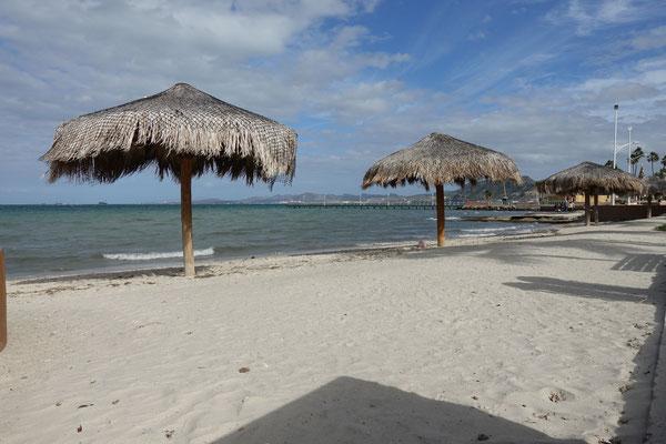 Strandfeeling mitten in La Paz