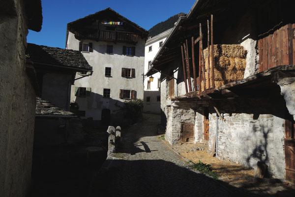 Schöne alte Häuser...