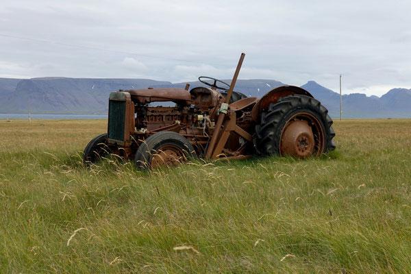 Alles rostet, Traktoren...