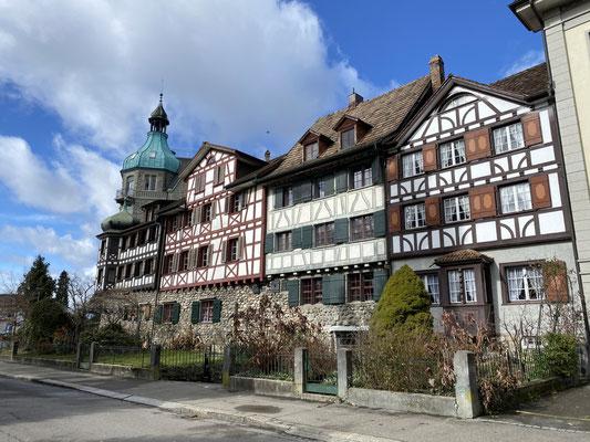 Schöne Altstadthäuser