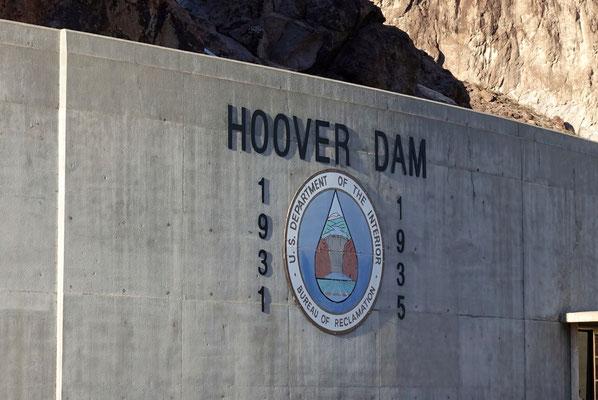 Hoover Dam, gebaut in den 30-Jahren