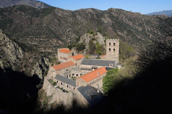 Wanderung zur Abtei St. Martin du Canigou