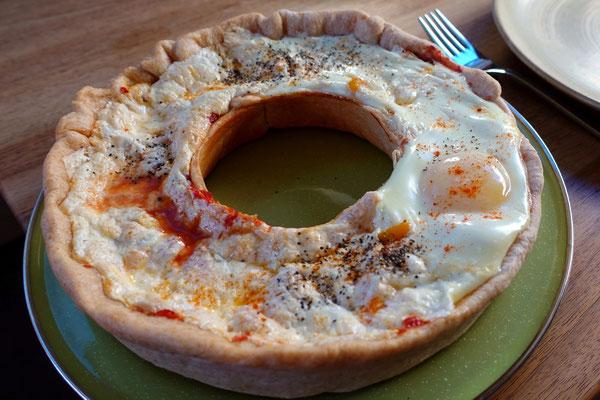 ...und eine feine Pizza zum Znacht!