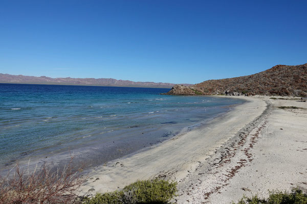 Schöne Küstenabschnitte...