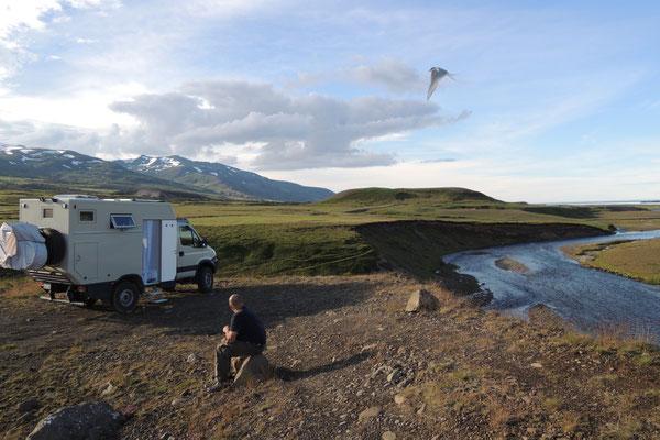 Ein sonniger Start in Island