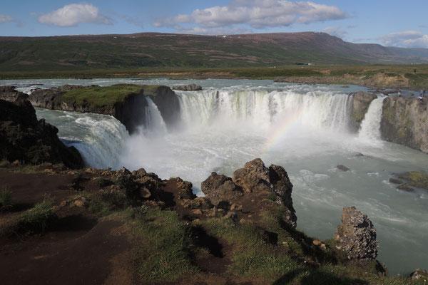Godafoss - Götterwasserfall