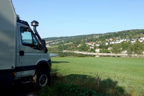 Im Jura am Doubs